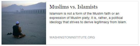 Muslim vs Islamist