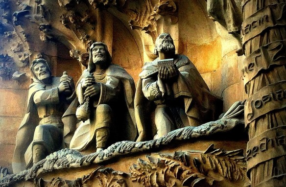 magi at sacrada familia